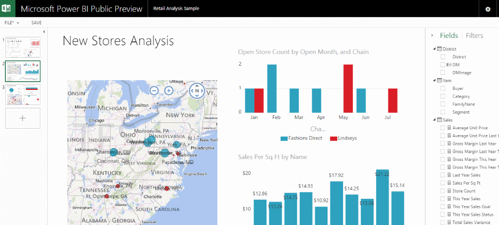 Viz Tech Watch: Microsoft's Power BI
